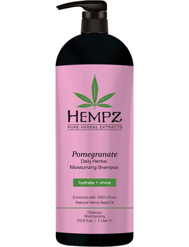 Pomegranate Daily Herbal Moisturizing Shampoo by Hempz