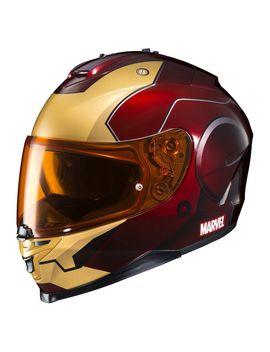 Hjc Is 17 Iron Man Helmet by Rev Zilla