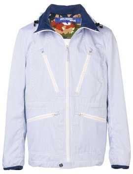 Hooded Striped Jacket by Junya Watanabe Man