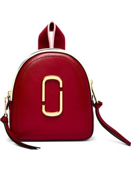 Snapshot Mini Leather Backpack by Marc Jacobs