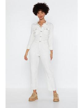 Being A Total Stitch Jumpsuit by Nasty Gal