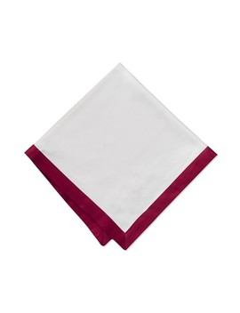 Bordered Hotel Napkins by Williams   Sonoma