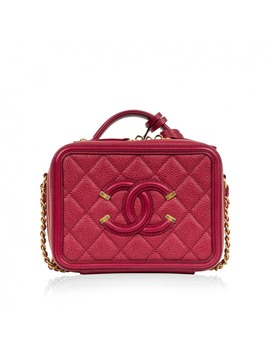 Vanity Leather Bag by Chanel
