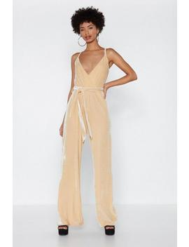 Stay In Touch Velvet Jumpsuit by Nasty Gal