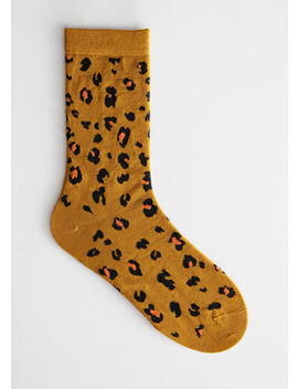 Leopard Ankle Socks by & Other Stories