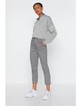 Square Do's Gingham Pants by Nasty Gal