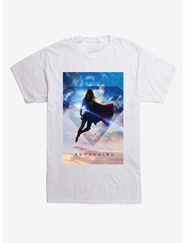 Dc Comics Supergirl Logo Sky T Shirt by Hot Topic