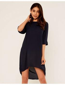 Midi Sleeve High Low Dress by Glassons