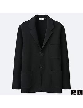 Men Uniqlo U Milano Ribbed Jacket by Uniqlo