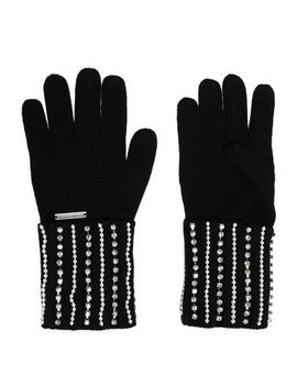 Embellished Merino Wool Gloves by Michael Michael Kors