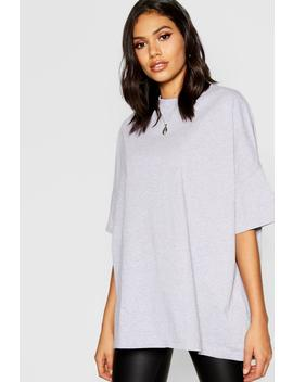 Basic Supersize Boyfriend T Shirt by Boohoo