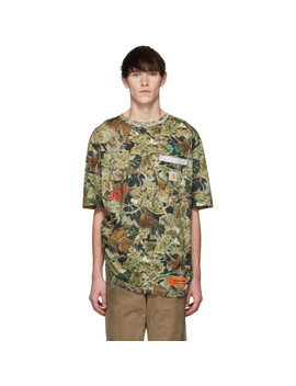 Green Carhartt Edition Camo T Shirt by Heron Preston
