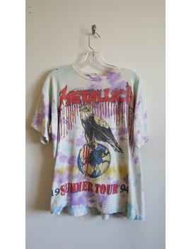 Metallica T Shirt, 1994 Summer Tour by Etsy