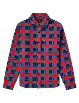 Stussy Brent Flannel Shirt by End.