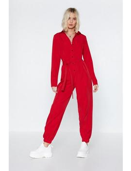 It All Boils Down To This Button Down Boilersuit by Nasty Gal