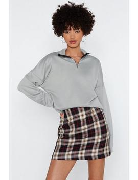 You Gotta Be Tartan Something Mini Skirt by Nasty Gal