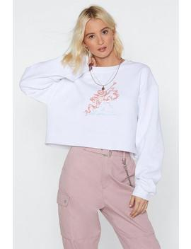 Such A Cherub Cropped Sweater by Nasty Gal