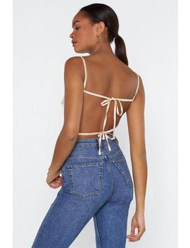 Back In The Groove Strappy Bodysuit by Nasty Gal