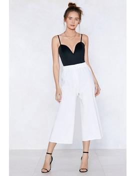 Go Far Culotte Pants by Nasty Gal