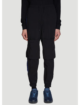 Odyssey Track Pants In Black by P.A.M