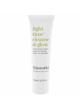 This Works Light Time Cleanse And Glow Cleanser (75ml) by Look Fantastic