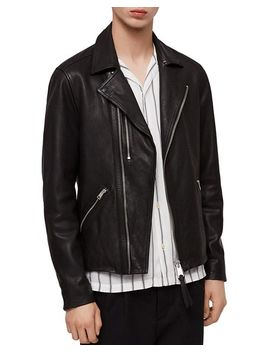 Ezra Leather Biker Jacket by Allsaints