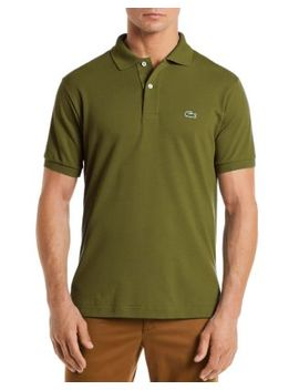 Heathered Pique Polo by Lacoste