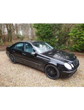 Mercedes E280   7 G Tronic Avantgarde   3.0 Petrol V6   Only 65000 Miles. Auction by Ebay Seller