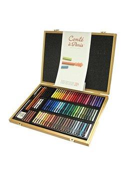 Conté à Paris Pastel 50174–3.6X 2.8X 3.1Cm, Multi Colour by Conté à Paris
