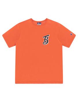 Beams Crewneck T Shirt Orange by Champion