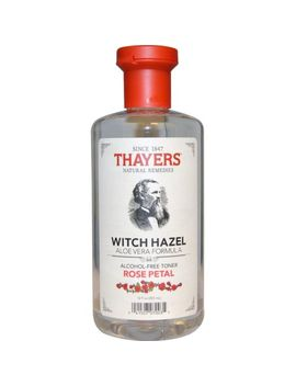 Thayers, Witch Hazel Aloe Vera Formula, Alcohol Free Toner, Rose Petal, 355ml by Witch