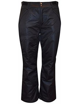 Pulse Women's Plus Size Insulated Snow Pants by Pulse