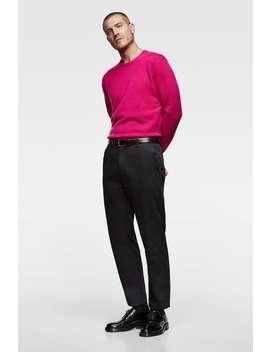 Kaszmirowy Sweter  Kolekcja All Time MĘŻczyzna Corner Shops WyprzedaŻ by Zara