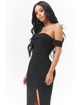Off Shoulder Jurk by Forever 21