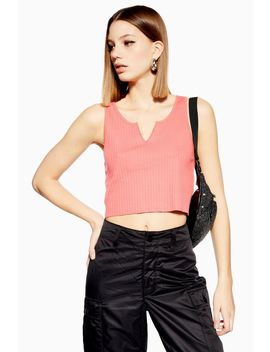 Notch Vest by Topshop