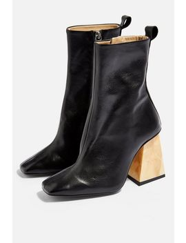 Habbs High Ankle Boots by Topshop