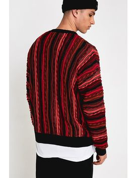 Urban Outfitters – Strickpullover Im 90er Style In Beere by Urban Outfitters Shoppen