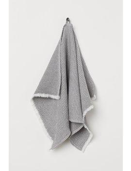 Handtuch Mit Waffelmuster by H&M