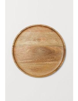 Vorlegeplatte Aus Holz by H&M