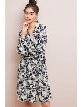 Colloquial Long Sleeved Shirtdress by Anthropologie