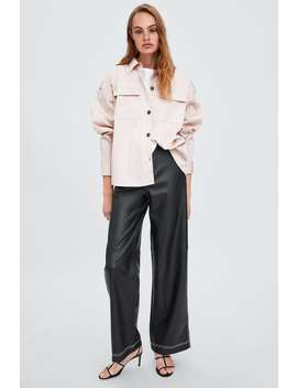 Shirt With Patch Pockets  Topsstarting From 50 Percents Off Woman Sale by Zara