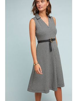 Davina Gingham Knit Dress by Maeve