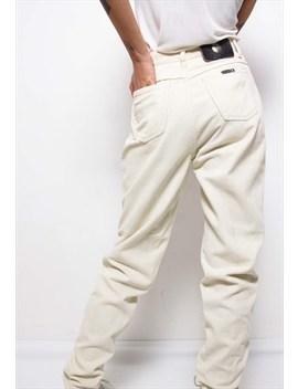 Vintage 90s Trussardi Beige Corduroy Trousers Id:7125 by The Black Market