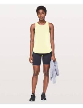Lululemon Women's Sculpt Tank Ii Lmni Lemon Ice Size 4 by Lululemon