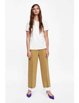 Jewel T  Shirttshirts Starting From 50 Percents Off Woman Sale by Zara