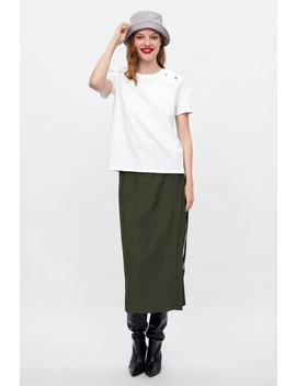 Contrasting Stud T  Shirttshirts Starting From 50 Percents Off Woman Sale by Zara