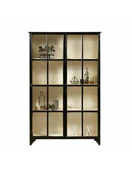 Pulaski P020622 Maura Iron Metal Display Cabinet by Pulaski