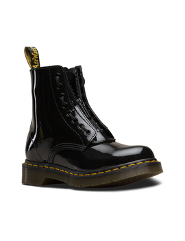 1460 Pascal Zip Front Patent by Dr. Martens