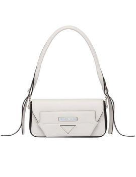 Prada Manuelle Leather Shoulder Bag by Prada