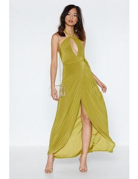 Get A Look In Maxi Dress by Nasty Gal